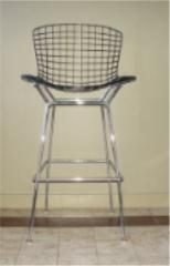 harry bertoia wire bar chair