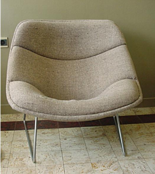 easy chair pierre paulin
